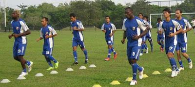 Pemain PSPS Pekanbaru ISL 2009 Latihan