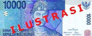 Pecahan Uang Rp 10.000 Baru
