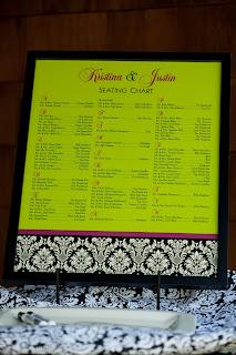 damask seating chart