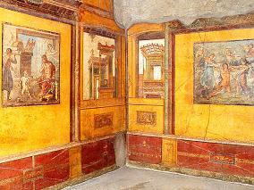 Murales en Casa dei Vetti