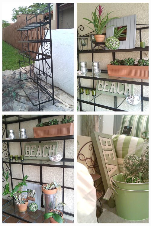 Focal Point Styling Mixing Old Amp New For A Patio Makeover