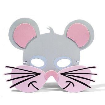 ideas para mascara en goma eva de raton mascara fomi mascara foamy