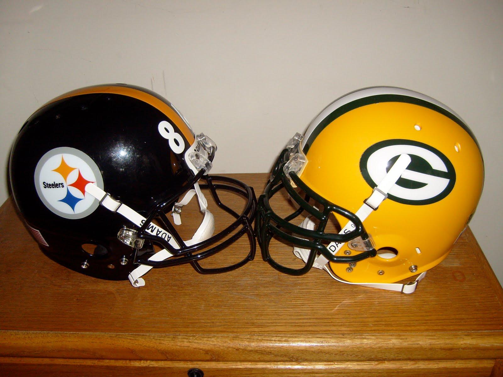 [Steelers:Packers+Helmets]