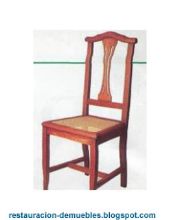 Restauracion de muebles reparar una silla - Como arreglar el asiento de una silla ...