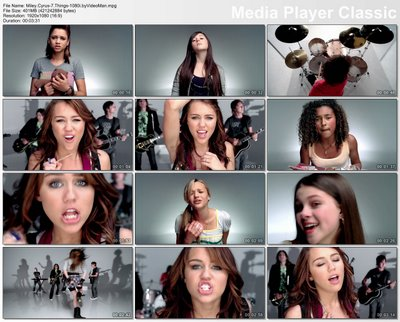 Miley Cyrus on Miley Cyrus 7 Things 1080i Byvideoman Jpg