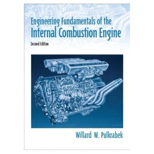 books engineering fundamentals   internal combustion engine  edition hardcover
