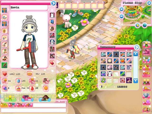 Hello Kitty Online jogo personagens