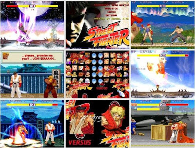 jogo street fighter mugen game