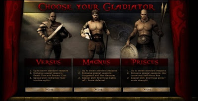 personagens Gladius 2 game PC
