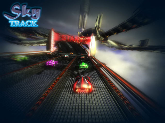 Sky Track game looping corrida carros