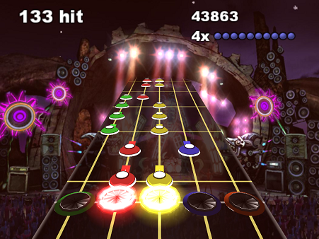 Frets on Fire guitar hero game