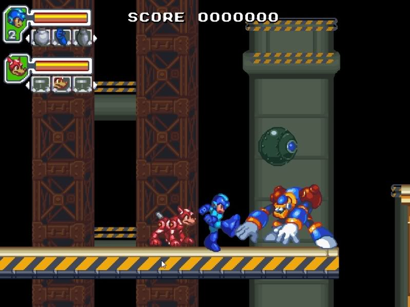 game mega drive Mega Man Evolution