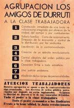 """""""Amigos de Durruti"""" Mayo de 1937 en Barcelona"""