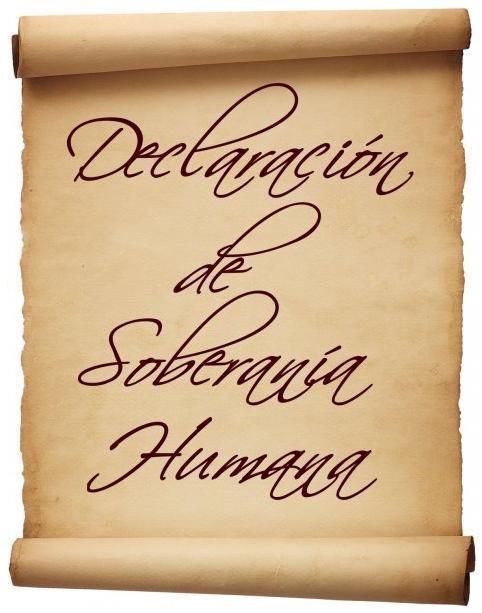 Declaración de Soberanía Humana