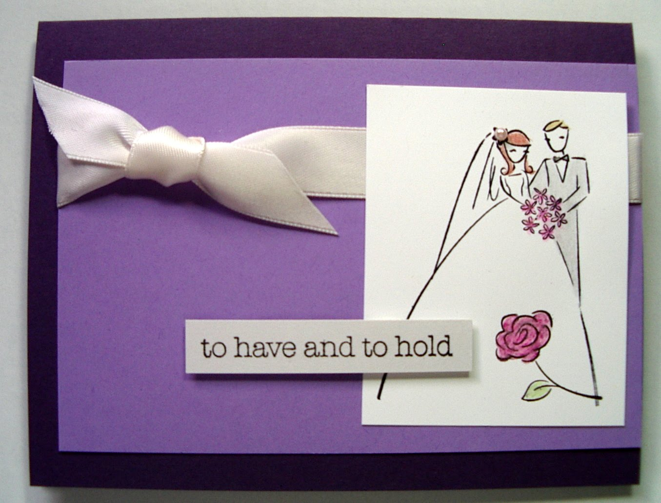 White Points: Wedding Cards