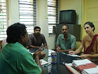 Meeting at Raja Ravi Varma College of Fine Arts