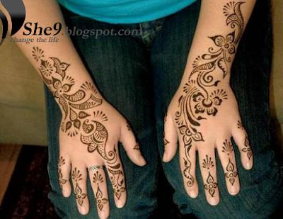 Arabic Mehndi Design 1 Pakistani Indian Arab Mehndi Designs Arabic Henna والنماذج العربية الحناء