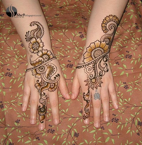 Mehndi For Teej : Arabic mehndi design pakistani indian arab