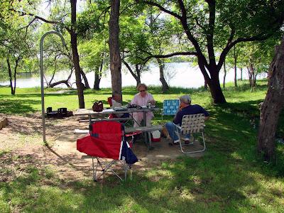 Inks Lake State Park Camping Map