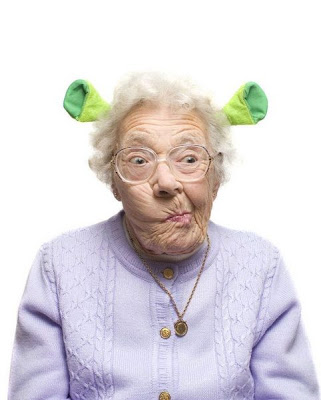 Shrek granny