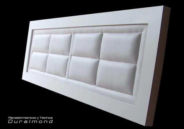 Dormitorios modernos cabeceras tapizadas exclusivos dise os - Cabeceras de cama tapizadas ...