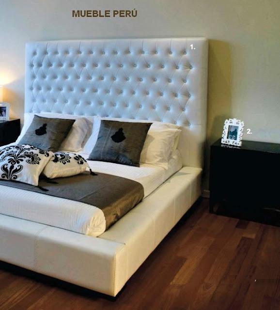 Dormitorios modernos modernas camas tapizadas - Camas tapizadas modernas ...