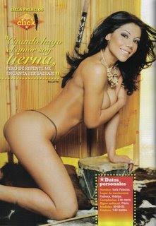 Isela Palacios Semi Desnuda