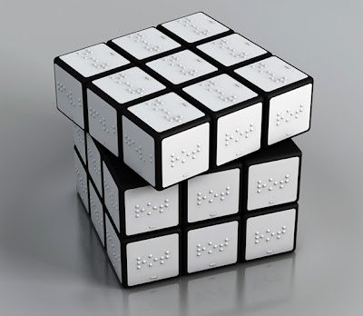 Color Rubik Cube For The Blind
