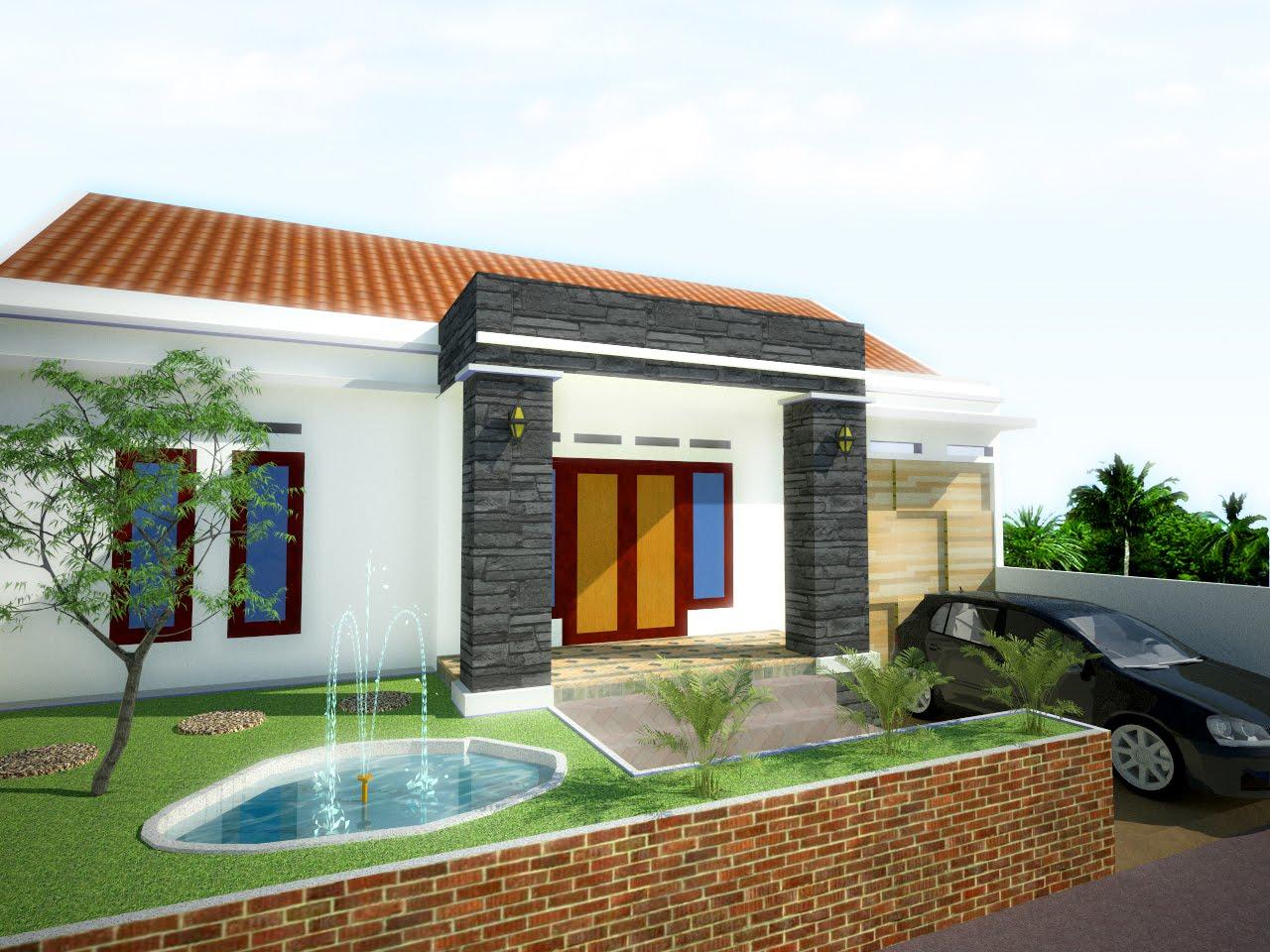 desain rumah sederhana ini saya buat saat kebutuhan rumah kecil di