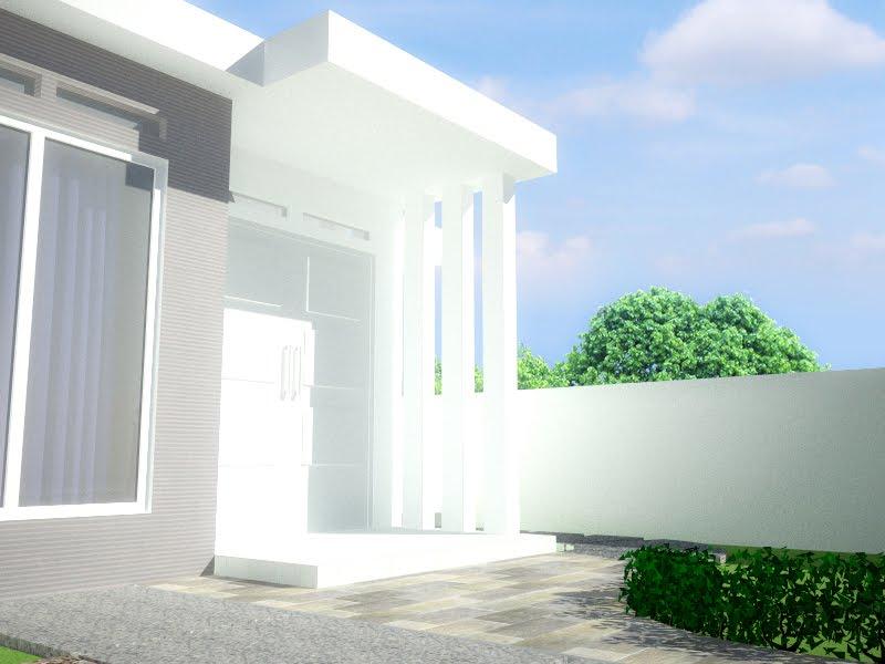 hendita design rumah minimalis di lahan sempit