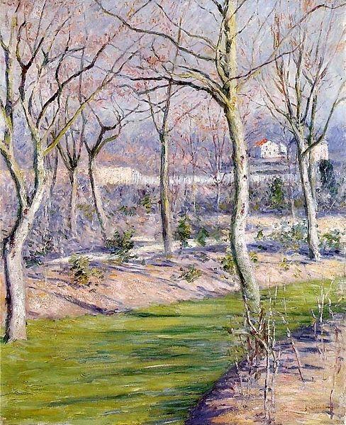 Pintura y arte gustave caillebotte - Petit jardin contemporain argenteuil ...