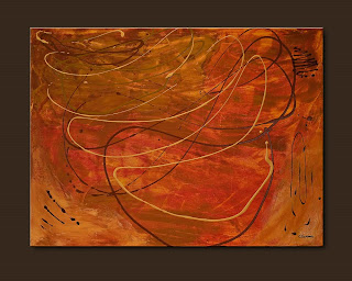 Vision Painting-Ripples-Abstract Art Paintings by Carmen Guedez - Image