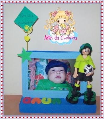 porta+retrato+caua Porta Retrato para crianças