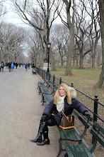 Pose i Central Park