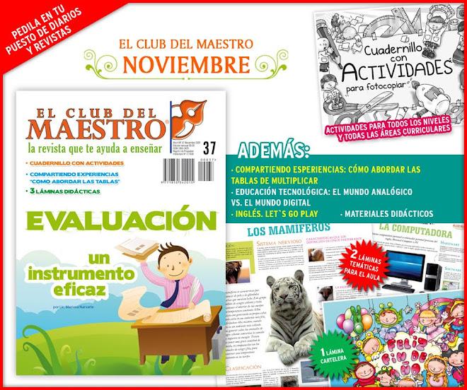 :: EL CLUB DEL MAESTRO :: NOVIEMBRE 2009