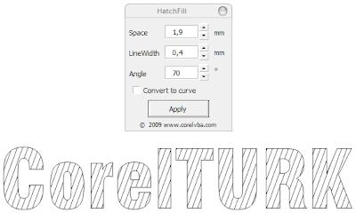 summa plotter ile corelde yazı kesme