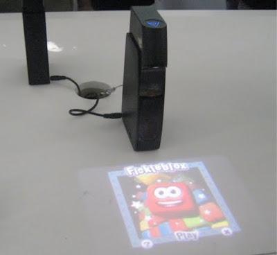 proyección láser holográfico