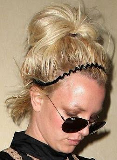Celebrity Britney's casual updo