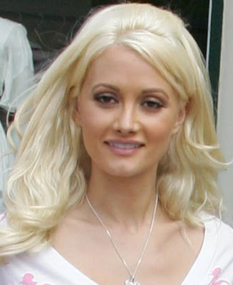 Celebrity Hairstyles: Holly Madison-4 Celebrity Curly Bangs Hairstyles