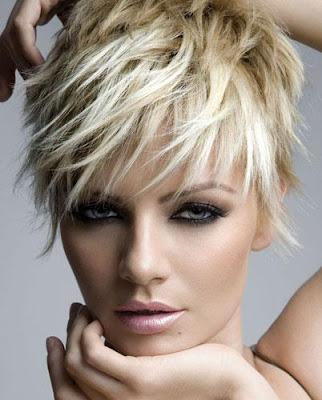 Short Crop Prom Hairstyle