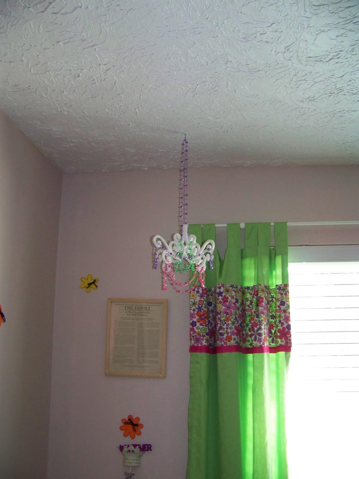 HOLM Made Chandelier Decor for a Little Girls Room