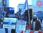 Idiots Protesting at Ground Zero