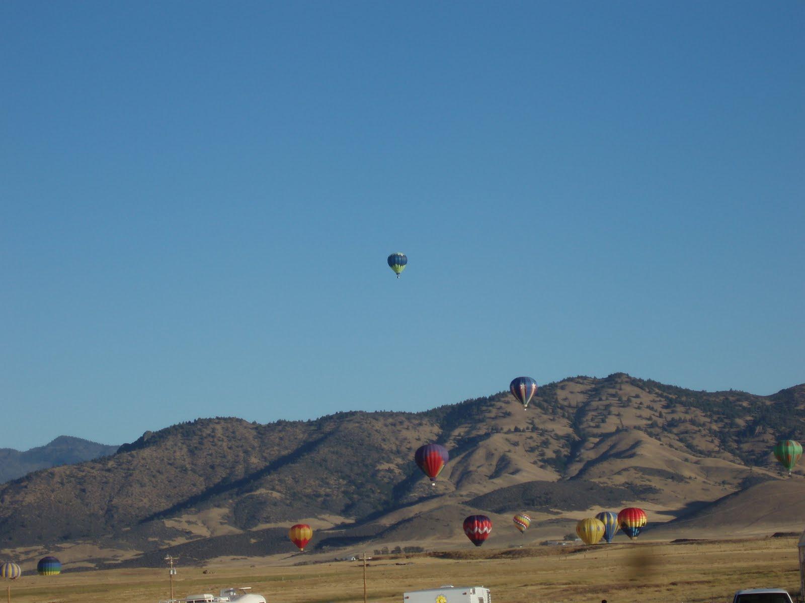 My Cozy Corner: Hot Air Balloon Fair