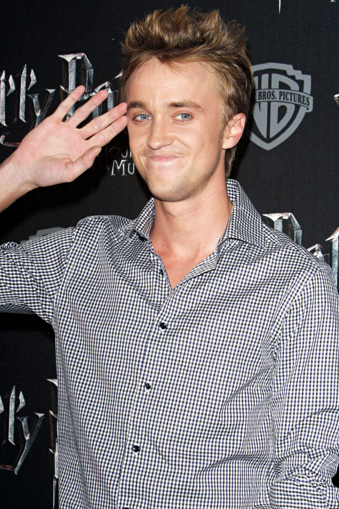 tom felton girlfriend break up. quot;Harry Potterquot; actor Tom