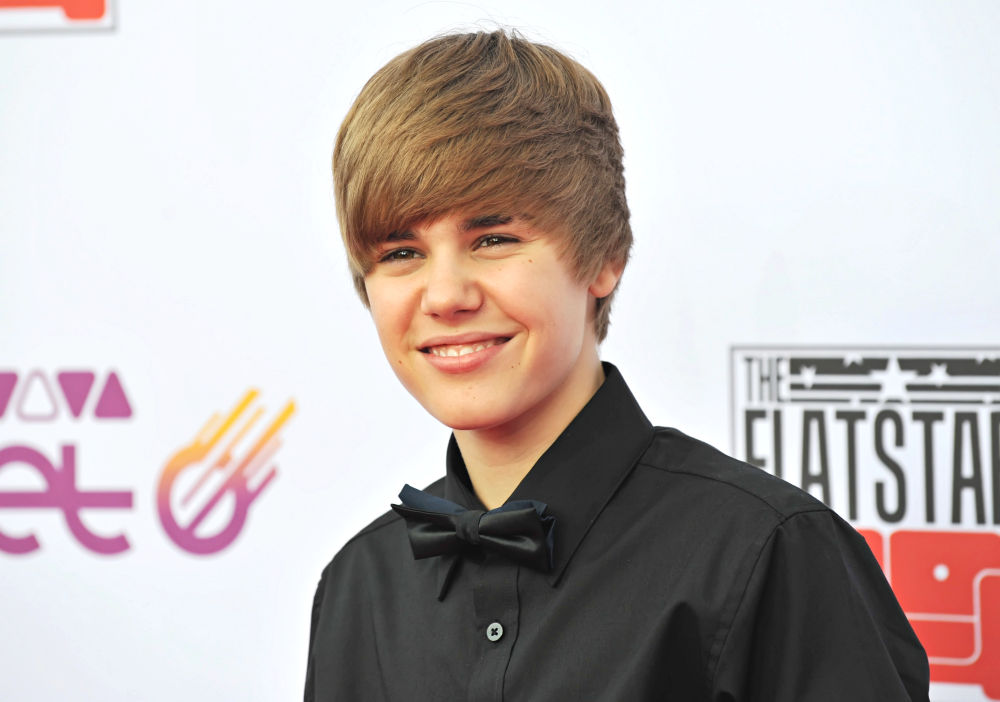 images of justin bieber when he was a baby. Justin Bieber is looking