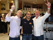 DJ`s Igor Cunha, Chris Souldeep & Clemente Napolitano