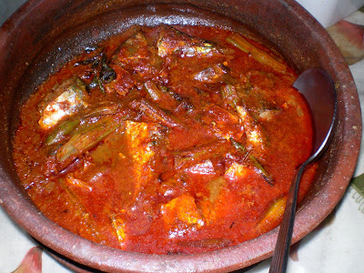 Foodie Delights Bangalore - Life n Spice: Easy Red Fish Curry