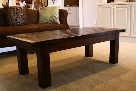 2x4 coffee table plans