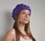 Purple Clouds Beret