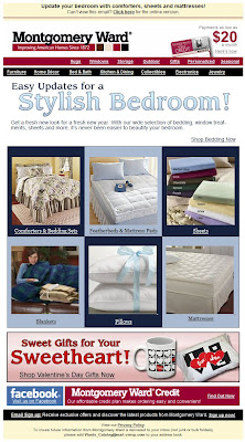 Click to view this Jan. 12, 2010 Montgomery Ward email full-sized